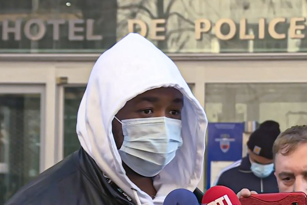 Michel Zecler testifies after his assault by the police. afrikaleaks