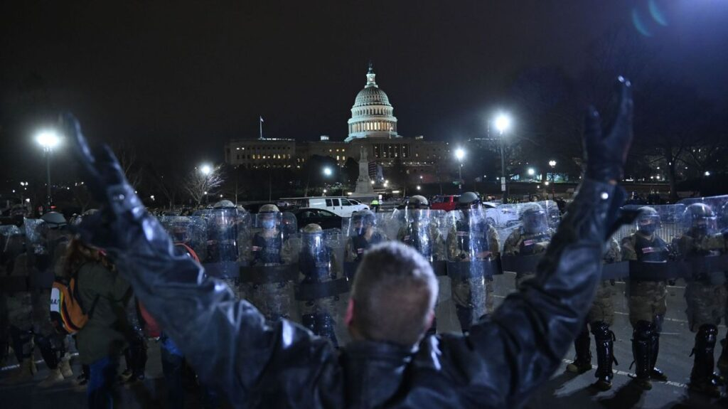 uprising in the capitol
