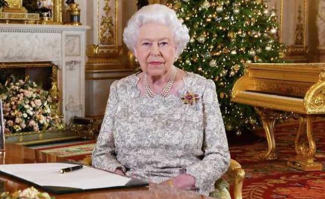 harry - La reine Elisabeth