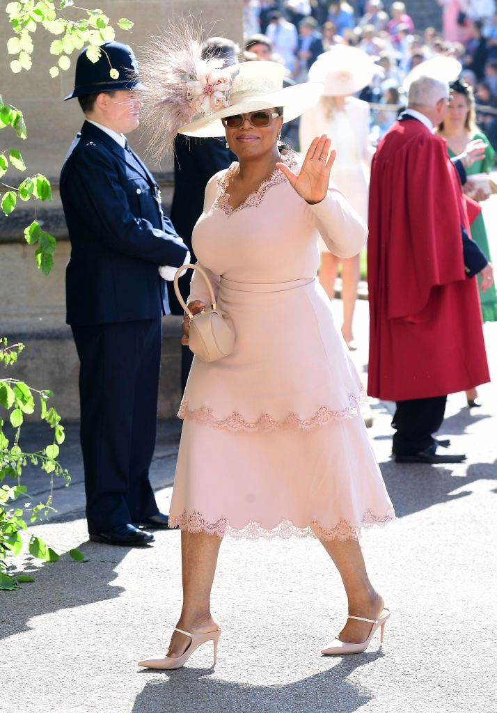 Oprah at Harry and Meghan's wedding