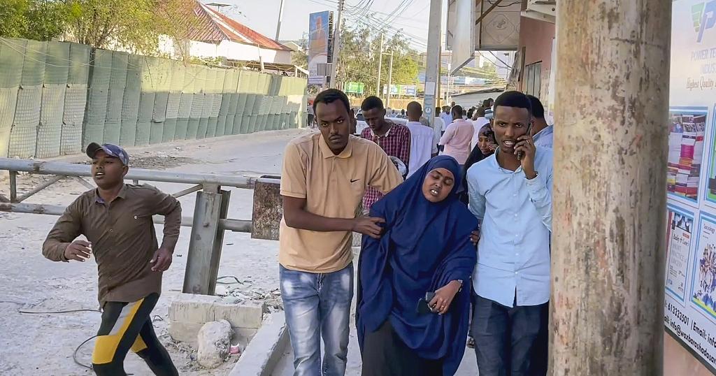 Explosion inSuicide car bomb in somalia
